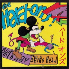 Discos de vinilo: HARD-ONS -SHARK'S HEAD / BIRTHDAY- SINGLE PUNK. Lote 43634650