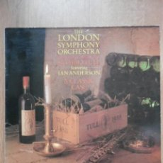 Discos de vinilo: PLAYS THE MUSIC OF JETHRO TULL. A CLASSIC CASE - THE LONDON SYMPHONY ORCHESTRA. CONDUCED BY DAVID PA. Lote 43637130