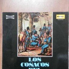 Discos de vinilo: LOS COSACOS DEL VOLGA - COROS ORIGINALES DE LOS COSACOS DEL VOLGA. Lote 43637143