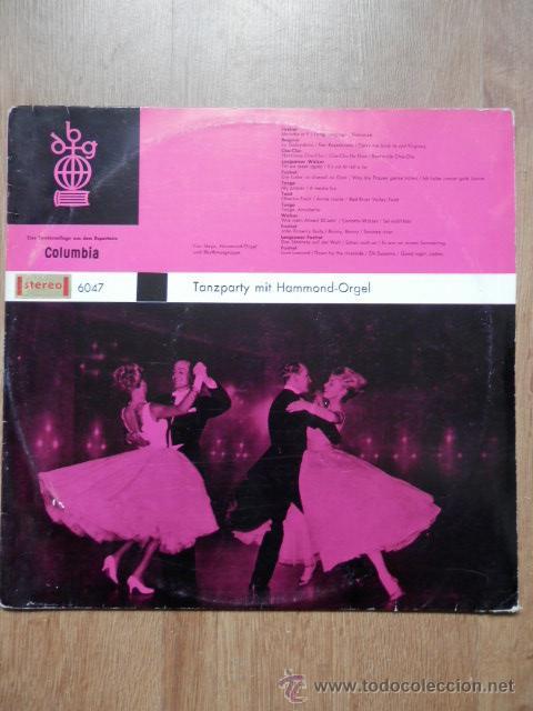 TANZPARTY MIT HAMMOND-ORGEL - COR STEYN, HAMMOND-ORGEL UND RHYTHMUSGRUPPE (Música - Discos de Vinilo - EPs - Orquestas)