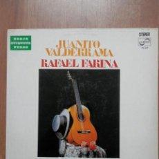 Discos de vinilo: ESPAÑA, TIERRA BENDITA - JUANITO VALDERRAMA. RAFAEL FARINA. Lote 43637157