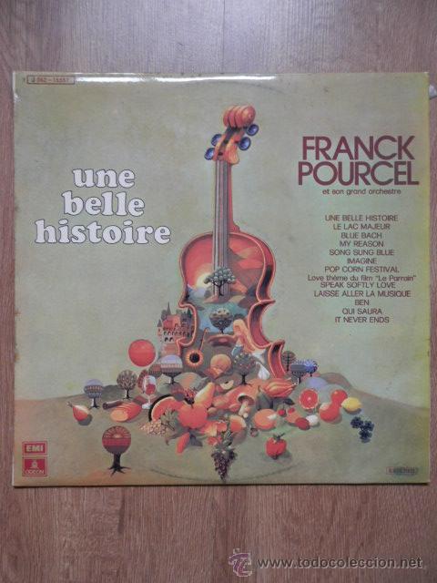 UNE BELLE HISTOIRE - FRANK POURCEL ET SON GRAND ORCHESTRE (Música - Discos de Vinilo - EPs - Orquestas)
