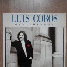 Discos de vinilo: ÓPERA MAGNA - LUIS COBOS. Lote 43637167