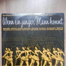 Discos de vinilo: WENN EIN JUNGER MANN KOMMT - DIVERSOS AUTORES. Lote 43637168