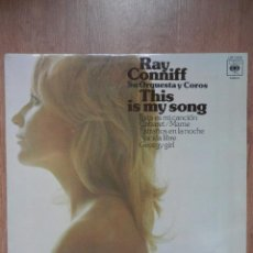 Discos de vinilo: THIS IS MY SONG - RAY CONNIFF. SU ORQUESTA Y COROS. Lote 43637178