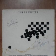 Discos de vinilo: CHESS PIECES - FEATURING: ELAINE PAIGE, BARBARA DICKSON, MURRAY HEAD AND TOMMY KÖRBERG. MUSIC AND LY. Lote 43637193