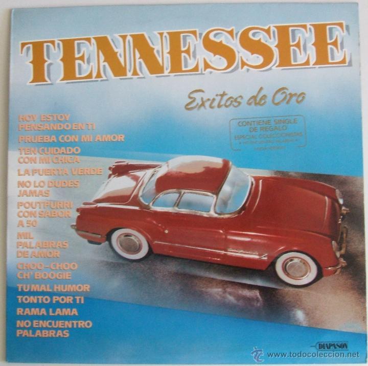 TENNESSEE - EXITOS DE ORO {LP} - VG+ / VG+ [INCLUYE SINGLE DE REGALO] TENNESSE (Música - Discos - LP Vinilo - Pop - Rock Extranjero de los 90 a la actualidad)