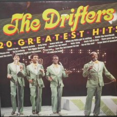 Discos de vinilo: THE DRIFTERS - 20 GOLDEN HITS (HOLANDA). Lote 43640319