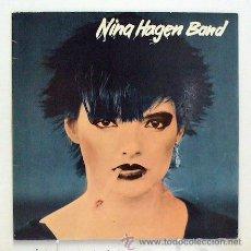 Discos de vinilo: NINA HAGEN BAND -'NINA HAGEN BAND' (LP VINILO. ORIGINAL 1978). Lote 43641302