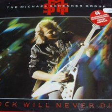 Discos de vinilo: THE MICHAEL SCHENKER GROUP-ROCK WILL NEVER DIE-EDIC ESP. Lote 43642536