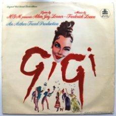 Discos de vinilo: ALAN JAY LERNER / FREDERICK LOEWE - GIGI - LP MGM RECORDS 1958 UK BPY. Lote 43646294