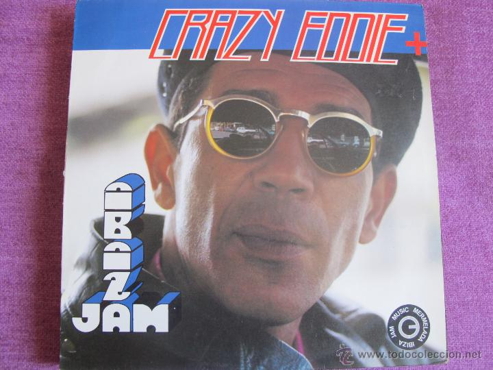 LP - CRAZY EDDIE AND Q.Q. FREE STYLE - THE ALBUM (SPAIN, BLANCO Y NEGRO MUSIC 1991) (Música - Discos - LP Vinilo - Disco y Dance)