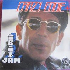 Discos de vinilo: LP - CRAZY EDDIE AND Q.Q. FREE STYLE - THE ALBUM (SPAIN, BLANCO Y NEGRO MUSIC 1991). Lote 47330410
