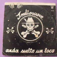 Discos de vinilo: INDIOSUAVE. SINGLE.. Lote 43653840