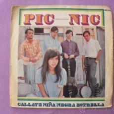 Discos de vinilo: PIC-NIC. SINGLE.. Lote 43654662