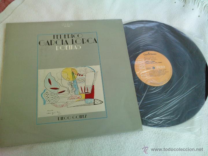FEDERICO GARCIA LORCA POEMAS RECITADOS POR DIEGO GOMEZ. AÑO 1975 (Música - Discos - LP Vinilo - Otros estilos)