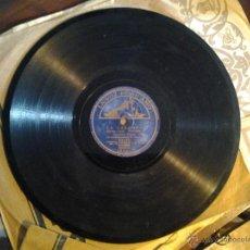 Discos de vinilo: DISCO PIZARRA DE 78 RPM CONCHITA PIQUER LA CARAMBA Y NO ME LLAMES DOLORES 21. Lote 50410327