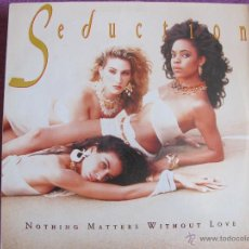 Discos de vinilo: LP - SEDUCTION - NOTHING MATTERS WITHOUT LOVE (GERMANY, AM RECORDS 1989). Lote 43666295