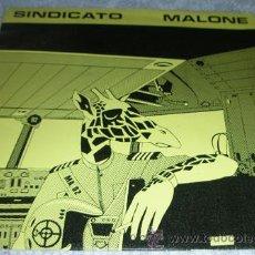 Discos de vinilo: SINDICATO MALONE - SOLO POR ROBAR - SINGLE GOLDSTEIN 1982 CON INSERT. Lote 43669260