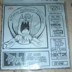Discos de vinilo: PANX VINYL ZINE 10 - VALSE TRISTE - CLAUSTROPHOBIA - FLEISCH LEGO Y MAS - FANZINE+ EP. Lote 43670009