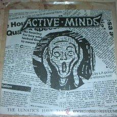 Discos de vinilo: ACTIVE MINDS - THE LUNATICS HAVE TAKEN OVER THE ASYLUM - FLEXI EP 1994 - PUNK. Lote 43670051
