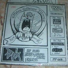 Discos de vinilo: PANX VINYL ZINE 05 - CMX - ACME - GO! - LEGITIME DEFONCE - DECEIT - REBELLENBLUT- FANZINE + EP. Lote 43670258