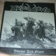 Discos de vinilo: NAILED DOWN - HONOUR AND GLORY - FLEXI 1997. Lote 43670272