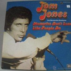 Discos de vinilo: MAGNIFICO LP DE - TOM - JONES -. Lote 43671181