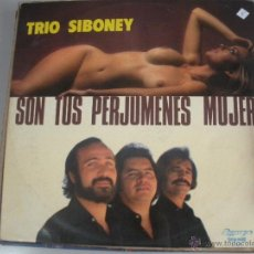 Discos de vinilo: MAGNIFICO LP DE - TRIO - SIBONEY -. Lote 43671203