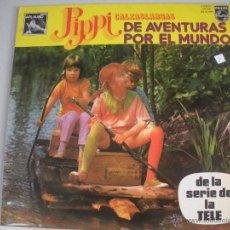 Discos de vinilo: MAGNIFICO LP DE - PIPPI CALZASLARGAS -. Lote 43671221