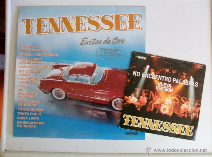 Discos de vinilo: TENNESSEE - EXITOS DE ORO {LP} - VG+ / VG+ [INCLUYE SINGLE DE REGALO] TENNESSE - Foto 4 - 43639220