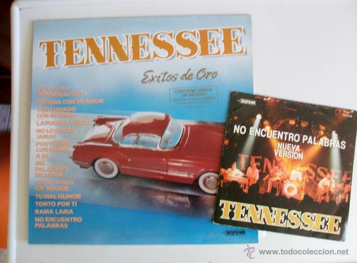 Discos de vinilo: TENNESSEE - EXITOS DE ORO {LP} - VG+ / VG+ [INCLUYE SINGLE DE REGALO] TENNESSE - Foto 5 - 43639220