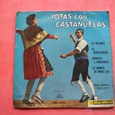 Discos de vinilo: EP JOTAS CON CASTAÑUELAS REGAL 1958. Lote 43673830