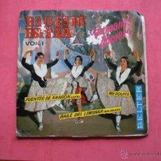 Discos de vinilo: EP BAILES DE ESPAÑA VOL 1 BELTER 50.789 PEPETO. Lote 43674334