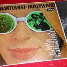 Discos de vinilo: MANTOVANI HOLLYWOOD LP 1967 DECCA PROMO EDICION ESPAÑOLA SPAIN. Lote 43675182