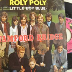 Discos de vinilo: STAMFORD BRIDGE -ROLY POLY -SINGLE 1970 -BUEN ESTADO. Lote 43679327