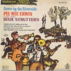 Discos de vinilo: PEE WEE ERWIN Y LOS DIXIE STRUTTERS,PASEANDO CON EL REY DEL 60. Lote 43688983
