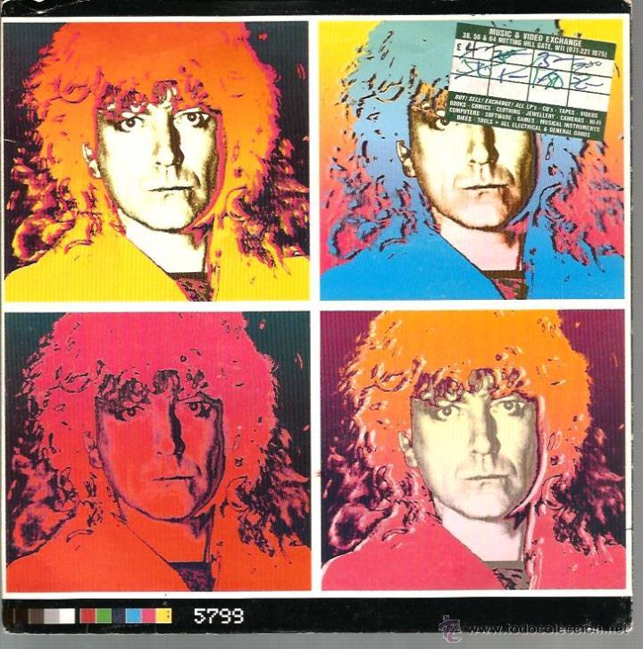 SG ROBERT PLANT ( LED ZEPPELIN ) : HURTING KIND + I CRIED (Música - Discos - Singles Vinilo - Pop - Rock Extranjero de los 90 a la actualidad)