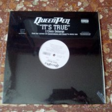 Discos de vinilo: VINILO MX QUEEN PEN ?– IT´S TRUE RAP HIP HOP USA. Lote 43691637
