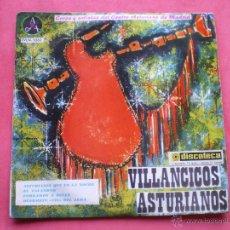 Discos de vinilo: EP VILLANCICOS ASTURIANOS CORO Y SOLISTAS DEL CENTRO ASTURIANO EN MADRID 1962 ASTURIAS PEPETO. Lote 43694286