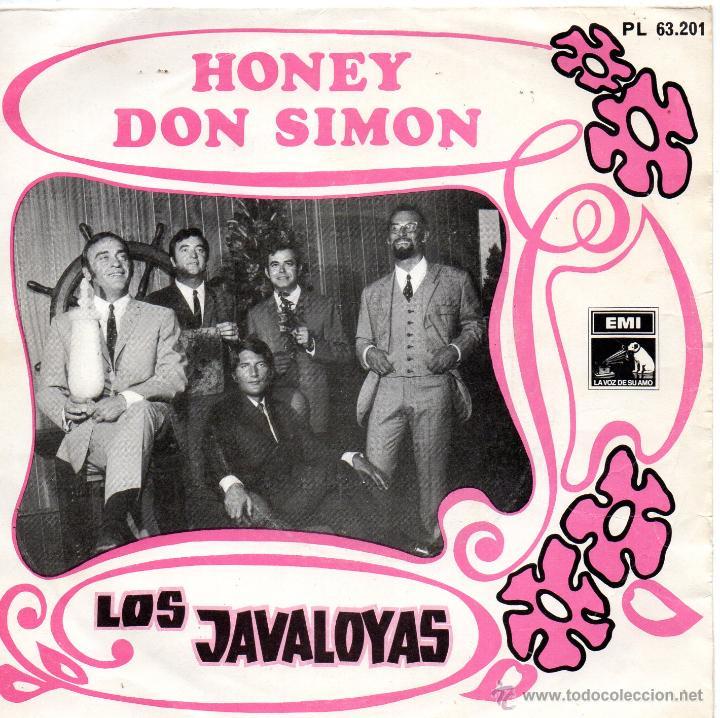 JAVALOYAS, SG, HONEY + 1, AÑO 1968 (Música - Discos - Singles Vinilo - Grupos Españoles 50 y 60)