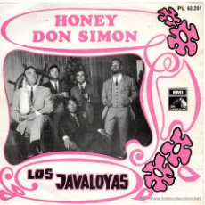Discos de vinilo: JAVALOYAS, SG, HONEY + 1, AÑO 1968. Lote 43694675