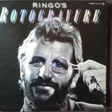 Discos de vinilo: RINGO STARR ROTOGRAVURE LP POLYDOR 1976. Lote 43694761