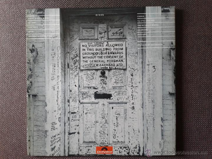 Discos de vinilo: RINGO STARR ROTOGRAVURE LP POLYDOR 1976 - Foto 3 - 43694761