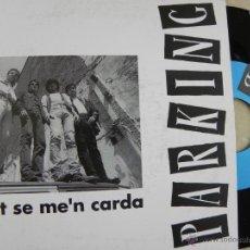 Discos de vinilo: PARKING -SINGLE PROMO GRABADO POR UNA SOLA CARA 1992 -BUEN ESTADO. Lote 43695569