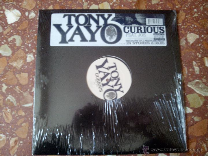 VINILO MX TONY YAYO FEAT. JOE - CURIOUS (2005) RAP/ HIP HOP USA (Música - Discos de Vinilo - Maxi Singles - Rap / Hip Hop)