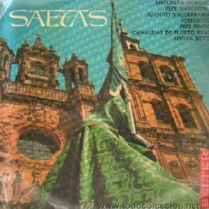Discos de vinilo: SAETAS D-SSANTA-050. Lote 43697021