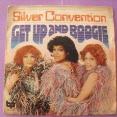 Discos de vinilo: SILVER CONVENTION. SINGLE.. Lote 43698296