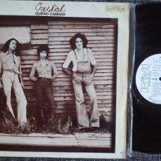 Discos de vinilo: CRISTAL. QUIERO CAMINAR. LP PROMO RCA SPL1-2497. ESPAÑA 1976. BARCELONA. SANTABÁRBARA.. Lote 43698969