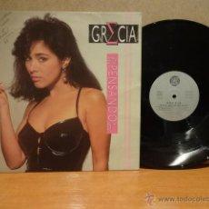 Discos de vinilo: ¡¡ FIRMADO !! GRECIA CASTELLANOS. ESTOY PENSANDO EN TI. LP / LIANES RECORDS-1992. USO NORMAL***/**. Lote 43698978
